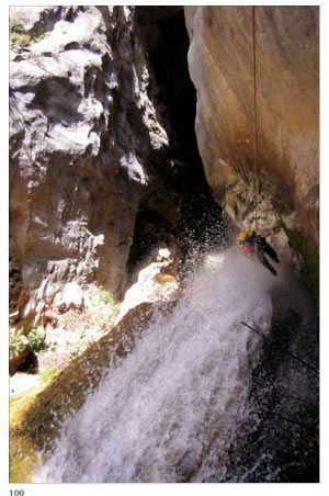 canyoning in crete